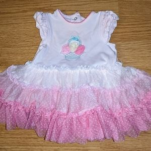 Beautiful spring dress for baby